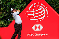 Jason Kokrak (USA) on the 9th teeduring the 3rd round of the WGC HSBC Champions, Sheshan Golf Club, Shanghai, China. 02/11/2019.<br /> Picture Fran Caffrey / Golffile.ie<br /> <br /> All photo usage must carry mandatory copyright credit (© Golffile | Fran Caffrey)