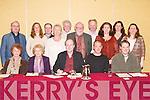 WORKSHOP: Attending the Irish Writing Workshop, in conjunction with the Samhlaiocht Festival, sponsored by Bord na Leabhar Gaeilge, at The Meadowlands Hotel, Tralee on Sunday night. Front l-r: Aine Ni Mhaoldomhmaigh, Cliodna Cussen, Micheal O Ruairc, Simon O Faolain agus Liam Mac Peaircin. Back l-r: Padraig Mac Fhearghusa (Organiser), Sharon Ni Chuilibin, Padraig B O Laighin, Maire Ni Eidhin, Frainc O Murchadha, Padraig O Snodaigh, Brian O Dochartai, Lucilita Bhreathnach, Ceaiti Ni Bheildiuin agus Coleen Dollard..