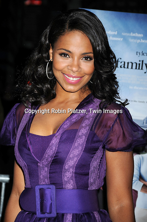 """actress Sanaa Lathan..arriving at The Special Screening of """"Tyler Perry's The Family That Preys"""" on September 8, 2008 at The AMC Loews Lincoln Center in New York City. ....Robin Platzer, Twin Images"""