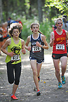 Eagle River's Emily Walsh placed fourth with a time of 19:15.98 at the Palmer Invitational Saturday, Sept 2, 2017.  Photo for the Star by Michael Dinneen