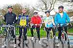Kerry Crusaders Cycling Club Scenic Challenge: Taking part in the Kerry Crusaders Cycling Club Scenic Challenge on Sunday last were Paudie Murphy, Gerard Moloney, Joan Flavin, Geraldine Gallagher & Con Lynch all from Listowel.