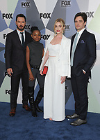 NEW YORK, NY - MAY 14: Mark-Paul Gosselaar, Saniyya Sidney, Brianne Howey, and Vincent Piazza at the 2018 Fox Network Upfront at Wollman Rink, Central Park on May 14, 2018 in New York City.  <br /> CAP/MPI/PAL<br /> &copy;PAL/MPI/Capital Pictures