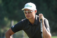 Haotong Li (CHN) during the third round of the Turkish Airlines Open, Montgomerie Maxx Royal Golf Club, Belek, Turkey. 09/11/2019<br /> Picture: Golffile | Phil INGLIS<br /> <br /> <br /> All photo usage must carry mandatory copyright credit (© Golffile | Phil INGLIS)