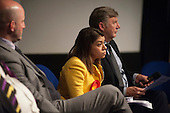 Tulip Siddiq (Labour). General election hustings in Hampstead and Kilburn, the second most marginal constituency in the UK.