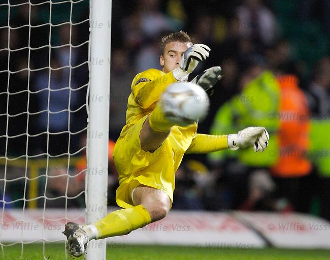 Artur Boruc, Celtic.stock season 2006-2007.pic willie vass