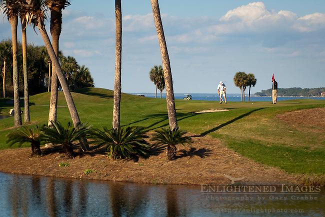 Golfing at The Sandestin Golf & Beach Resort; Destin; Florida