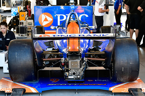 2018 Verizon IndyCar Series Phoenix testing<br /> Phoenix Raceway, Avondale, Arizona, USA<br /> Thursday 8 February 2018<br /> Scott Dixon, Chip Ganassi Racing Honda windscreen test <br /> World Copyright: Scott R LePage/LAT Images<br /> ref: Digital Image _SRL2959