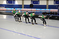 SPEEDSKATING: CALGARY: Olympic Oval, 30-11-2017, ISU World Cup training, Team Belarus, ©photo Martin de Jong