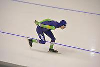 SPEEDSKATING: CALGARY: 13-11-2015, Olympic Oval, ISU World Cup, 5000m, Jorrit Bergsma (NED), ©foto Martin de Jong