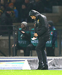 16.03.2019, OLympiastadion, Berlin, GER, DFL, 1.FBL, Hertha BSC VS. Borussia Dortmund, <br /> DFL  regulations prohibit any use of photographs as image sequences and/or quasi-video<br /> <br /> im Bild Cheftrainer (Head Coach) Lucien Favre (Borussia Dortmund)<br /> <br />       <br /> Foto &copy; nordphoto / Engler