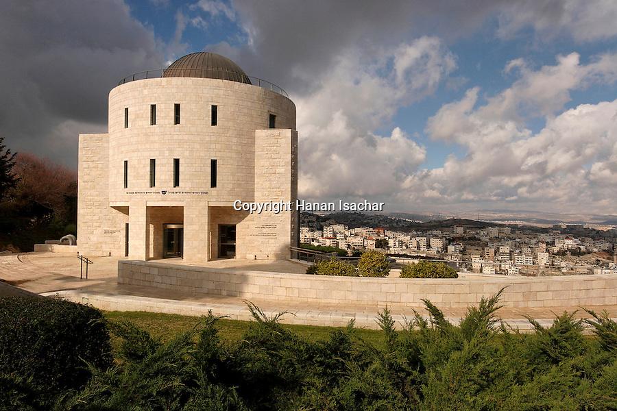 Israel, Jerusalem, The Hebrew University campus on Mount Scopus, the Mandel Institute of Jewish Studies<br />