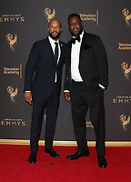 LOS ANGELES, CA - SEPTEMBER 09: Common, Robert Glasper, at the 2017 Creative Arts Emmy Awards at Microsoft Theater on September 9, 2017 in Los Angeles, California. <br /> CAP/MPIFS<br /> &copy;MPIFS/Capital Pictures