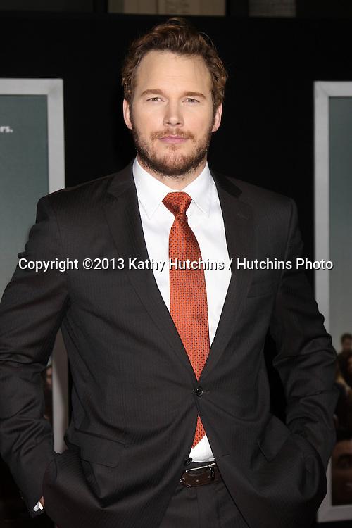 "LOS ANGELES - NOV 3:  Chris Pratt at the ""Delivery Man"" World Premiere at El Capitan Theater on November 3, 2013 in Los Angeles, CA"