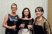 Pictured at the IHF Ball in the Muckross Park Hotel at the weekend were Paddy Keogh, Muckross Park Hotel, Fiona Tobin and Mary Rose Stafford, Tralee Institute.<br /> Photo: Don MacMonagle<br /> <br /> Repro free photo