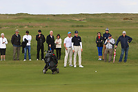 Martin Vorster (RSA) on the 18th green during Round 4 of The East of Ireland Amateur Open Championship in Co. Louth Golf Club, Baltray on Monday 3rd June 2019.<br /> <br /> Picture:  Thos Caffrey / www.golffile.ie<br /> <br /> All photos usage must carry mandatory copyright credit (© Golffile | Thos Caffrey)
