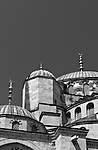 Blue Mosque Angles & Curves 04 - Domes of the Blue Mosque, Sultanahmet, Istanbul, Turkey