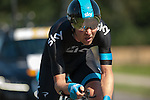 SITTARD, NETHERLANDS - AUGUST 16: Gabriel Rasch of Norway riding for Sky Procycling competes during stage 5 of the Eneco Tour 2013, a 13km individual time trial from Sittard to Geleen, on August 16, 2013 in Sittard, Netherlands. (Photo by Dirk Markgraf/www.265-images.com)