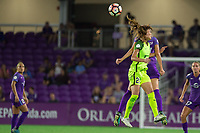 Orlando, FL - Thursday September 07, 2017: Rumi Utsugi during a regular season National Women's Soccer League (NWSL) match between the Orlando Pride and the Seattle Reign FC at Orlando City Stadium.