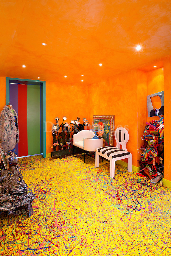 yellow carpet