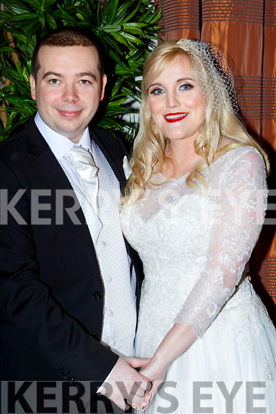 Denise O'Sullivan, Countess Grove Killarney daughter of Elizabeth and the late Sean, and Stephen O'Sullivan, Santry Dublin son of Ronan and Tracey, who were married in Las Vegas on the 2nd September and held their reception in the Brehon Hotel on Saturday night, the couple will reside in Cork