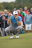 Sergio Garcia (ESP) in action on the 16th hole during the final round at the KLM Open, The International, Amsterdam, Badhoevedorp, Netherlands. 15/09/19.<br /> Picture Stefano Di Maria / Golffile.ie<br /> <br /> All photo usage must carry mandatory copyright credit (© Golffile | Stefano Di Maria)