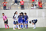 Eriko Arakawa (ELFEN) ,<br /> JUNE 15, 2014 - Football / Soccer : 2014 Nadeshiko League, between AS ELFEN SAITAMA 1-3 INAC KOBE LEONESSA at NACK 5 Stadium Omiya, Saitama, Japan. (Photo by Jun Tsukida/AFLO SPORT)