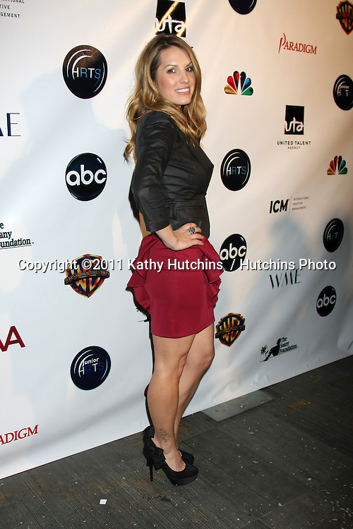 LOS ANGELES - DEC 7:  Tenille Houston arrives at the JHRT's 9th Young Hollywood Holiday Party at Eden on December 7, 2011 in Los Angeles, CA
