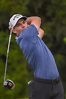 Aaron Wise (USA) watches his tee shot on 14 during the round 1 of the AT&amp;T Byron Nelson, Trinity Forest Golf Club, Dallas, Texas, USA. 5/9/2019.<br /> Picture: Golffile | Ken Murray<br /> <br /> <br /> All photo usage must carry mandatory copyright credit (&copy; Golffile | Ken Murray)
