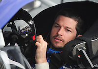 Feb 13, 2008; Daytona Beach, FL, USA; Nascar Sprint Cup Series driver Patrick Carpentier (10) during practice for the Daytona 500 at Daytona International Speedway. Mandatory Credit: Mark J. Rebilas-US PRESSWIRE