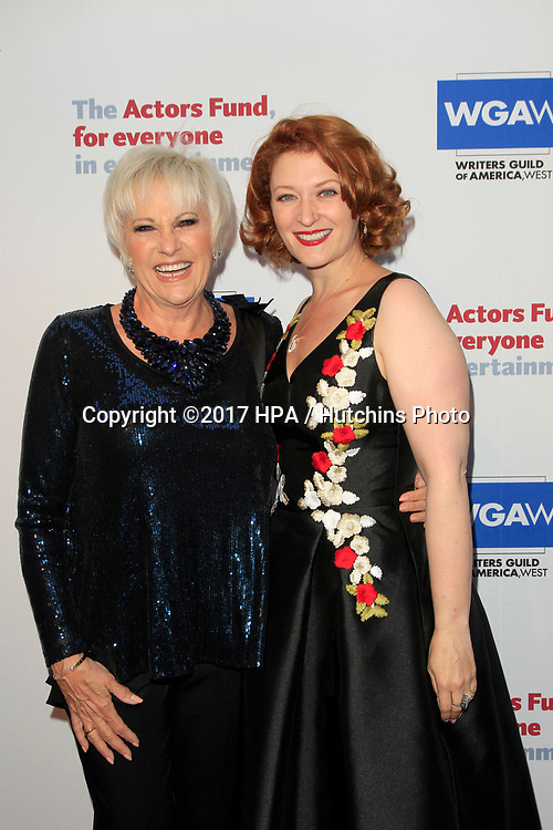 LOS ANGELES - JUN 11:  Lorna Luft, Kerry O'Malley at the Actors Fund's 21st Annual Tony Awards Viewing Party at the Skirball Cultural Center on June 11, 2017 in Los Angeles, CA