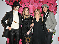 Joshua Kane, Olivia Arben, guest and Jimmy Q (James Edward Quaintance) at the Remembering Audrey Hepburn charity gala celebrating the life of the late actress, Royal Lancaster Hotel, Lancaster Terrace, London, England, UK, on Saturday 06 October 2018.<br /> CAP/CAN<br /> &copy;CAN/Capital Pictures