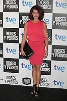 Neus Asensi poses at `Dioses y perros´ film premiere photocall in Madrid, Spain. October 07, 2014. (ALTERPHOTOS/Victor Blanco) /nortephoto.com