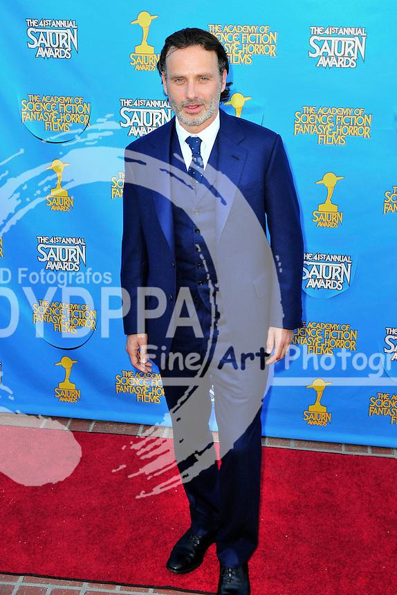 Andrew Lincoln bei der Verleihung der 41. Saturn Awards im Castaway. Burbank, 25.06.2015