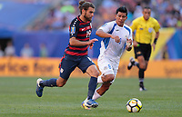Cleveland, OH - Saturday July 15, 2017: Graham Zusi during a 2017 Gold Cup match between the men's national teams of the United States (USA) and Nicaragua (NCA) at FirstEnergy Stadium.