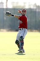 Roidany Aguila  - Arizona Diamondbacks - 2010 Instructional League.Photo by:  Bill Mitchell/Four Seam Images..