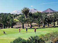 Spanien, Kanarische Inseln, Lanzarote, Teguise, Golfclub Costa Teguise | Spain, Canary Island, Lanzarote, Teguise, golf club Costa Teguise