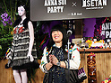 "May 4, 2016, Tokyo, Japan - American fashion designer Anna Sui delivers a speech as she attends the opening ceremony of her brand's special event ""Anna Sui Party"" at the Isetan department store in Tokyo on Wednesday, May 4, 2016. Isetan celebrated the 20th anniversary of Anna Sui brand's launching in Japan.  (Photo by Yoshio Tsunoda/AFLO) LWX -ytd-"