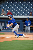 ***Temporary Unedited Reference File***Iowa Cubs right fielder John Andreoli (3) during a game against the Nashville Sounds on May 3, 2016 at First Tennessee Park in Nashville, Tennessee.  Iowa defeated Nashville 2-1.  (Mike Janes/Four Seam Images)