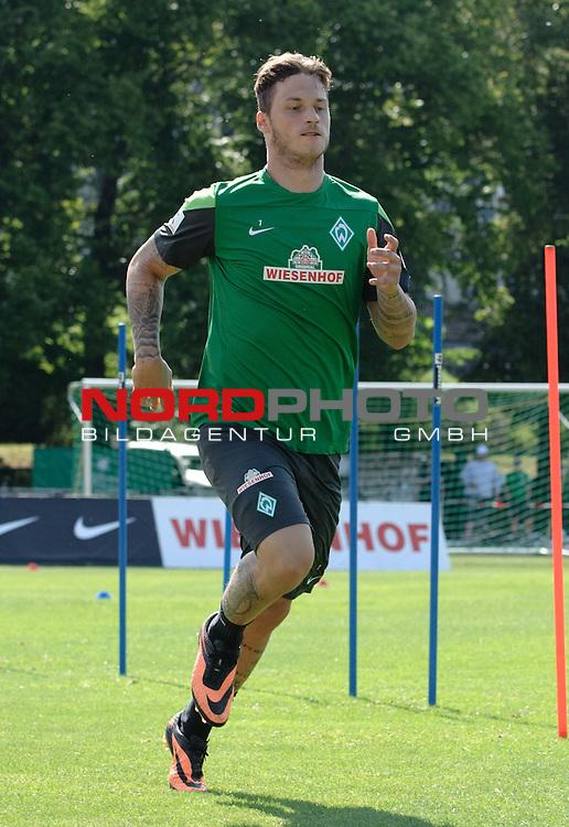 23.07.2013, Sportplatz, Blankenhain, GER, 1.FBL, Trainingslager Werder Bremen 2013, im Bild Marko Arnautovic (Bremen #7)<br /> <br /> Foto &not;&copy; nph / Frisch