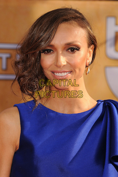 Giuliana Rancic.Arrivals at the 19th Annual Screen Actors Guild Awards at the Shrine Auditorium in Los Angeles, California, USA..27th January 2013.SAG SAGs headshot portrait purple blue  .CAP/ADM/BP.©Byron Purvis/AdMedia/Capital Pictures