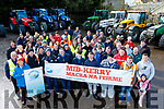 Mid Kerry Macra Na Feirme organised a tractor run last Sunday afternoon, gathering at Miltown Mart and the proceeds were donated to Recovery Haven Kerry.