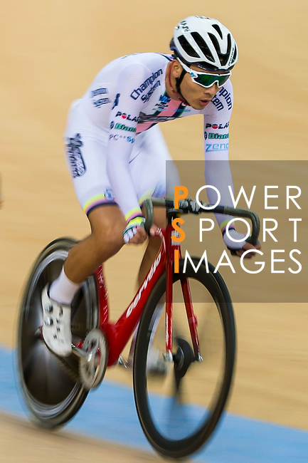 Lau Wan Hei Victor of X SPEED competes in the Omnium category during the Hong Kong Track Cycling Race 2017 Series 6 at Hong Kong Velodrome on 12 March 2017, in Hong Kong, China. Photo by Marcio Rodrigo Machado / Power Sport Images