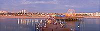 Santa Monica Pier Sunset