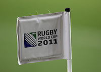 Rugby World Cup Auckland England v Scotland  Pool B 01/10/2011.Corner Flag at Eden Park.Photo  Frey Fotosports International/AMN Images