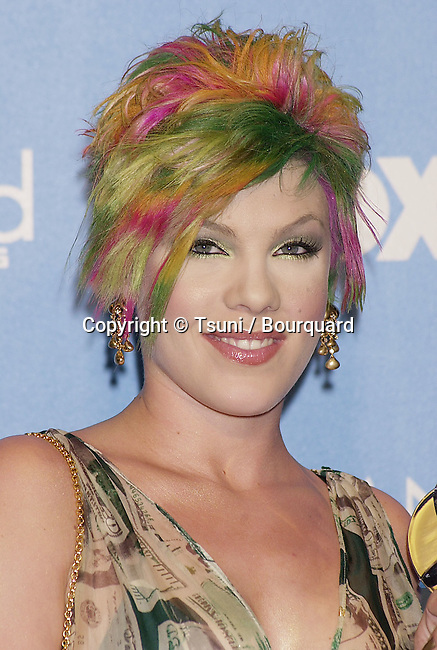 Dec 05, 2000; Los Angeles, CA, USA; <br /> The 2000 Billboard Music awards was hels at the MGM in Las Vegas<br /> Pink.03B.JPG