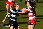 NELSON, NEW ZEALAND - JULY 20: Division 1 Womens Rugby Final - WOB v Moutere at Trafalgar Park 20 July 2019 in Nelson, New Zealand. (Photo by Chris Symes/Shuttersport Limited)