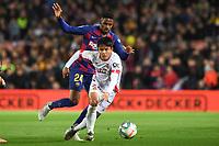 Taka, Junior Firpo<br /> 07/12/2019 <br /> Barcelona - Maiorca<br /> Calcio La Liga 2019/2020 <br /> Photo Paco Largo Panoramic/insidefoto <br /> ITALY ONLY