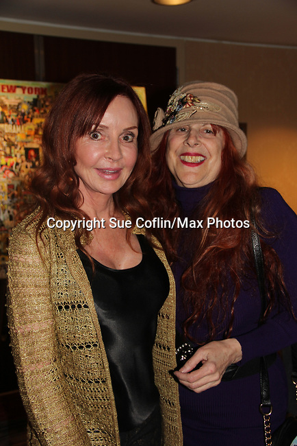 Jacklyn Zeman & Jane Elissa - The 31st Annual Jane Elissa Entertainment Extravaganza to benefit Leukemia, Cancer Research and Broadway Cares Equity Fights Aids on November 5, 2018 at the New York Marriott Marquis, New York City, New York.  (Photo by Sue Coflin/Max Photos)