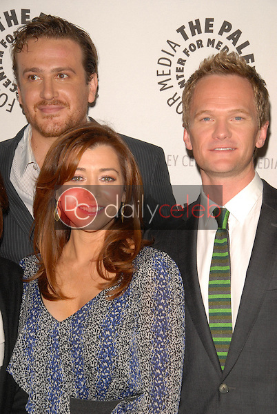 Jason Segel, Alyson Hannigan and Neil Patrick Harris<br />