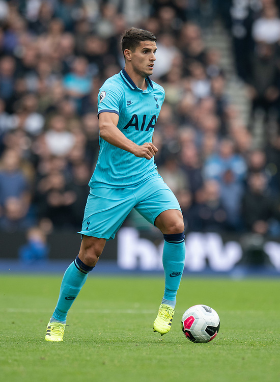 Tottenham Hotspur's Erik Lamela <br /> <br /> Photographer David Horton/CameraSport<br /> <br /> The Premier League - Brighton and Hove Albion v Tottenham Hotspur - Saturday 5th October 2019 - The Amex Stadium - Brighton<br /> <br /> World Copyright © 2019 CameraSport. All rights reserved. 43 Linden Ave. Countesthorpe. Leicester. England. LE8 5PG - Tel: +44 (0) 116 277 4147 - admin@camerasport.com - www.camerasport.com